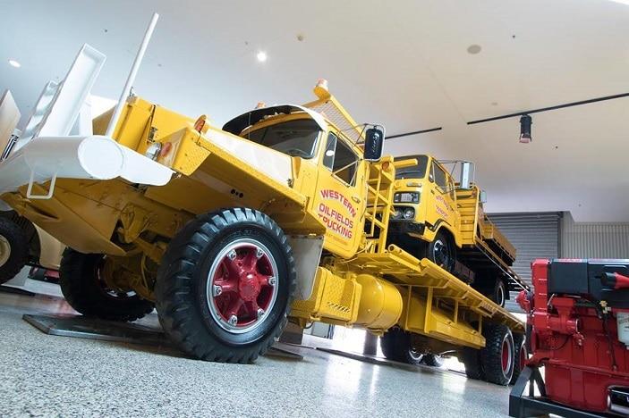 Queensland Transport Museum Open Day, truck, old trucks,