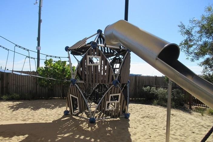 slide at newport stockland playground
