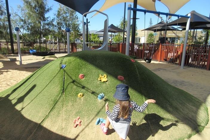 climbing mound for kids