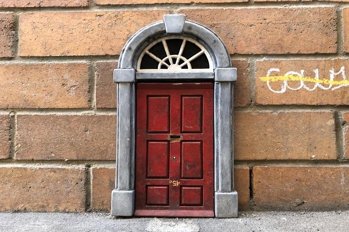 Fairy Door Burnett Lane Brisbane CBD