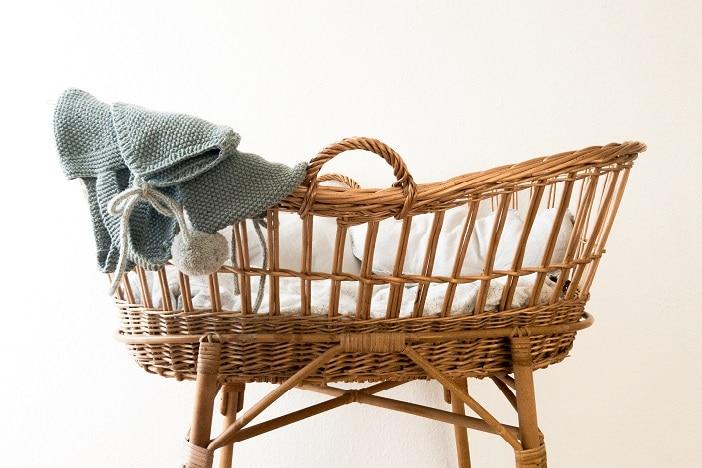 eco friendly baby show bassinett