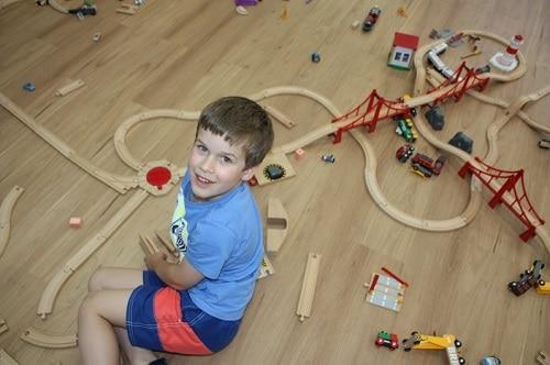 kids train parties brisbane