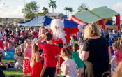 Griffin Christmas Carnival, Santa, rides, kids