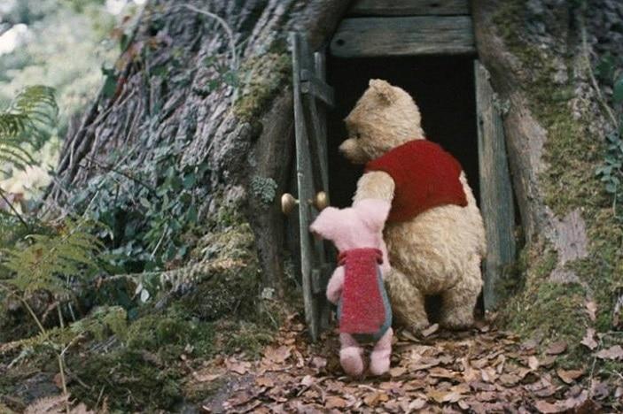 Christopher Robin Movie, Winnie the Pooh, Piglet