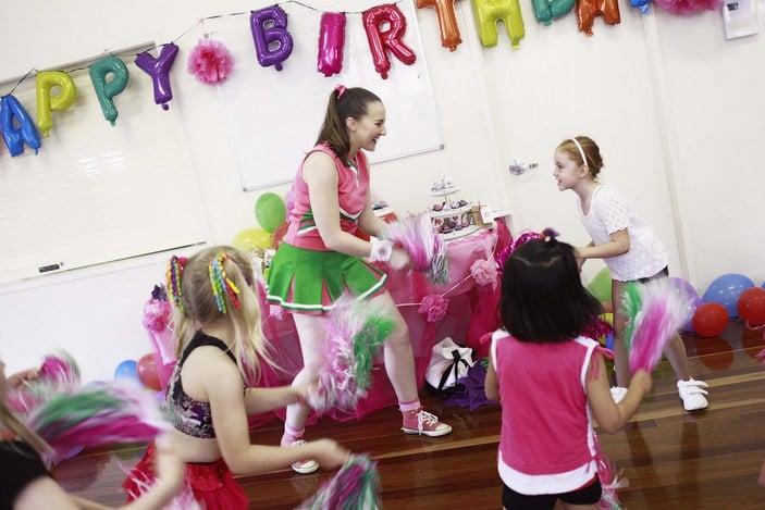 Dancing Queen Parties, kids dancing parties