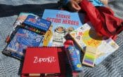 Zuperkit, kids travel activity kit