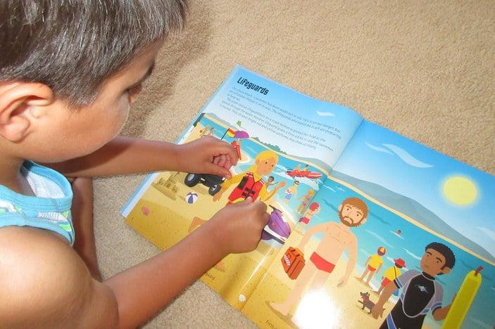 Zuperkit, kids travel activity kit