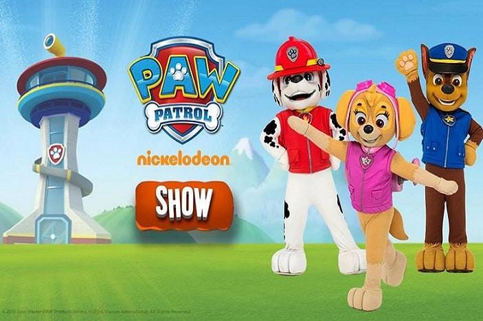Nick Jr.\'s Paw Patrol Ready for Action Show   Brisbane Kids
