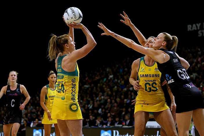 The Constellation cup Australia Vs New Zealand