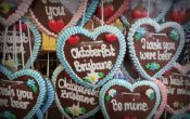 German Oktoberfest cookie