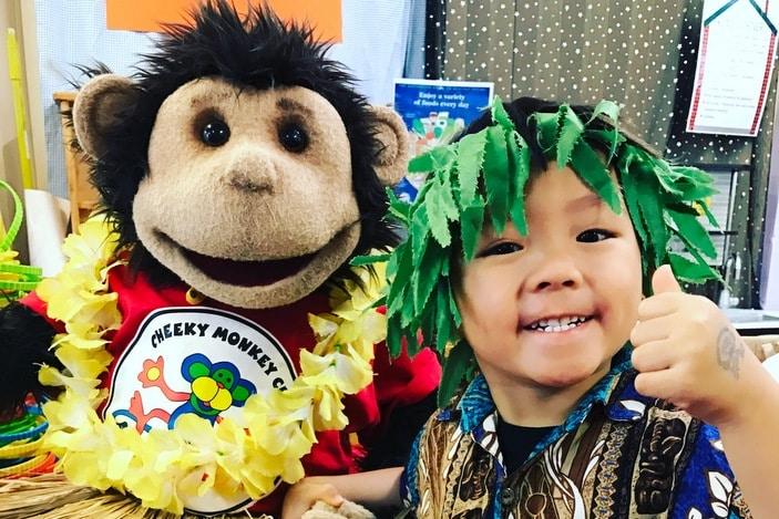 Cheeky Monkey Club Hula in Hawaii