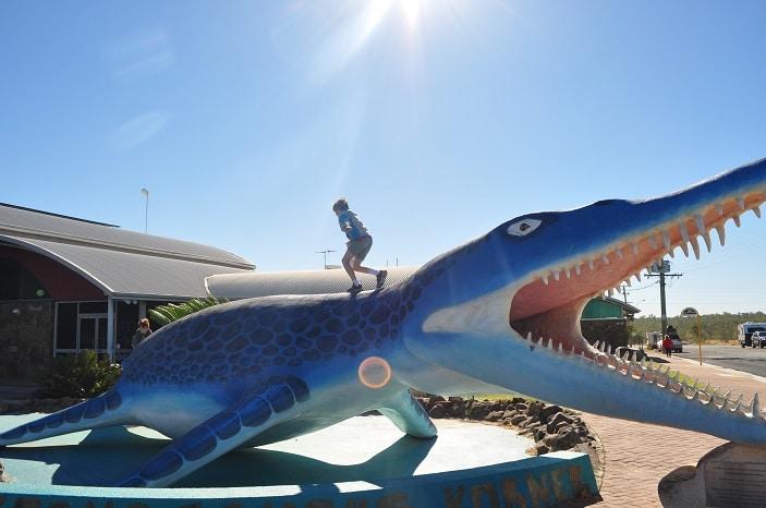 Dinosaur Sculplture