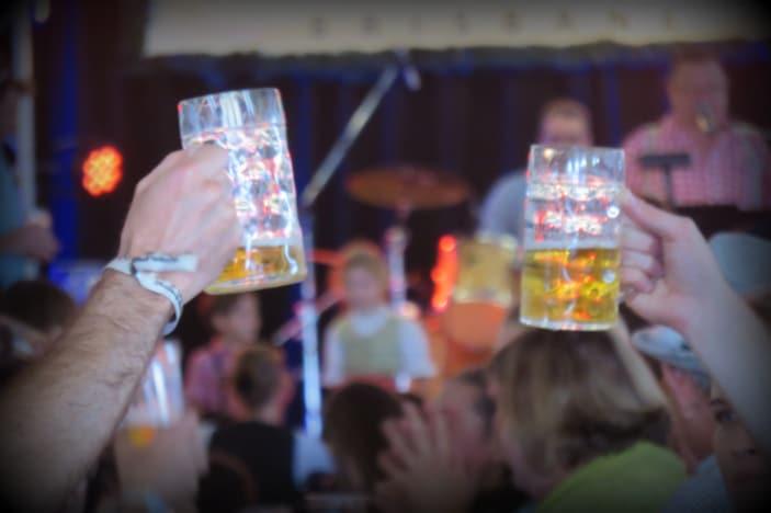 Beer at Oktoberfest Brisbane