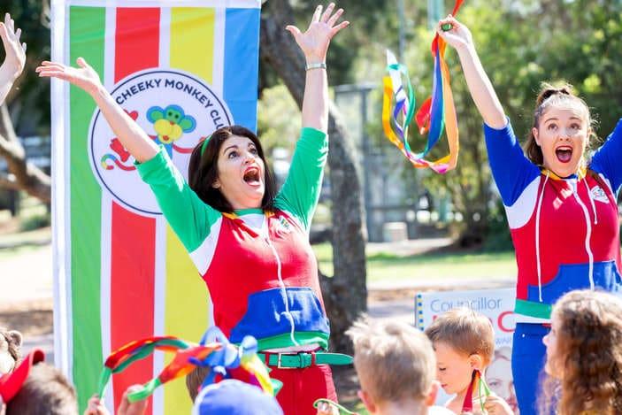 Cheeky Monkey Club performances for kids