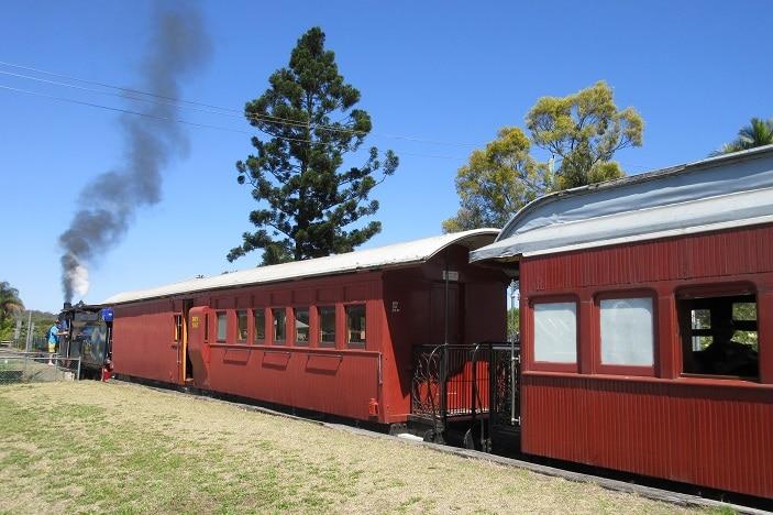 steam train cabins