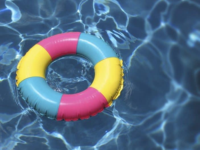 pool floatie istock