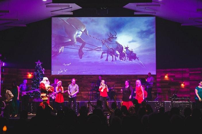 Centre Point Church Christmas Carols and carnival, carols, concert, reindeer, santa