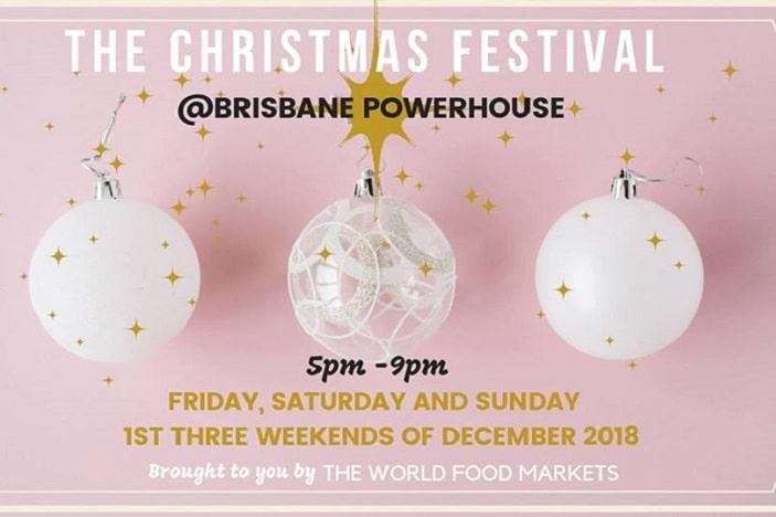 Christmas Festival Brisbane Powerhouse