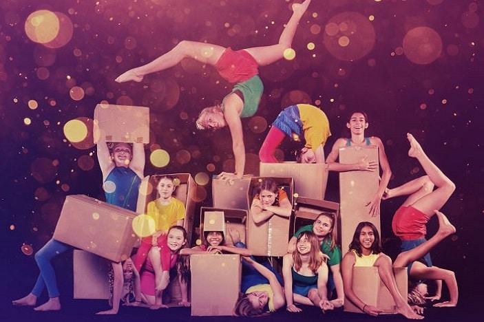 Circa Zoo Fred, Bobby and Me, Circa, youth ensemble, circus, acrobats
