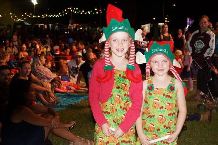 City of Logan Christmas Carols, Girls in Santa Hats, Christmas