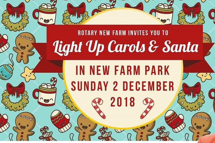 Light up carols and Santa in the park 2018, Christmas food