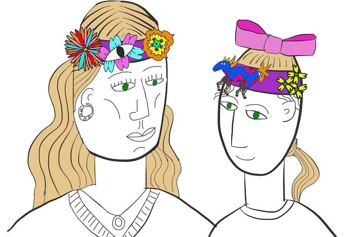 Mob Maker Moki Bands, museum of Brisbane, Make your own headbands