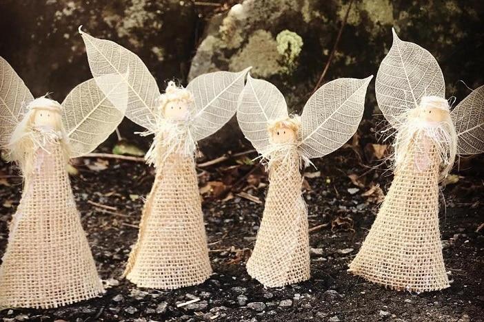 St John's Christmas markets and carols, home made Christmas angels