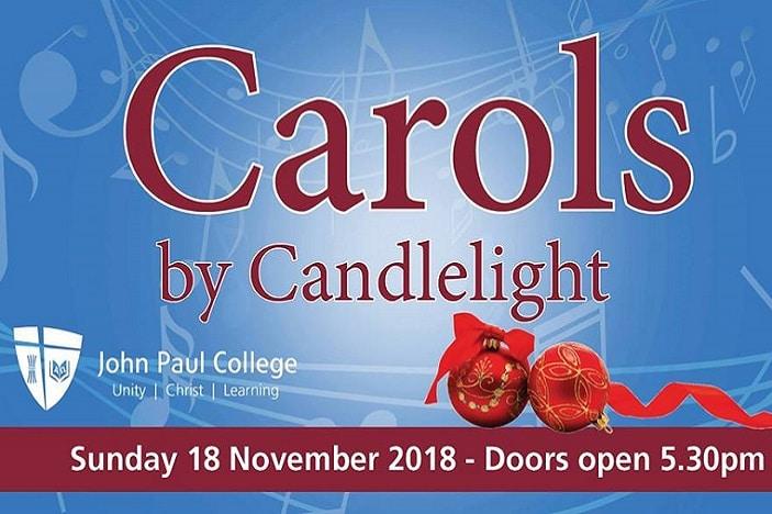 carols by candlelight john paul college