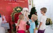 Sanctuary Cove Christmas, Santa and kids