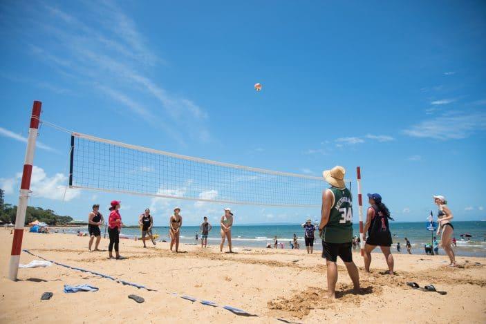 Australia Day Redcliffe, beach volleyball