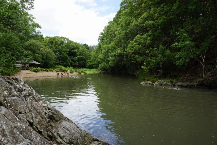 gold coast swimming, freshwater, currumbin rock pools