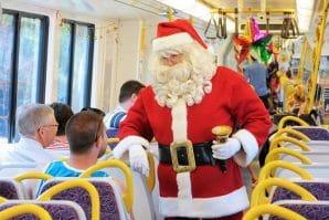 Santa express Queensland rail