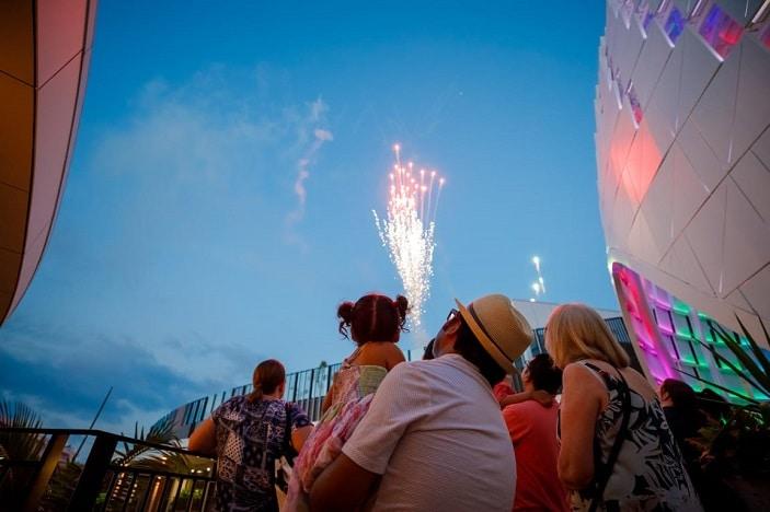 fireworks new years eve westfield chermisde