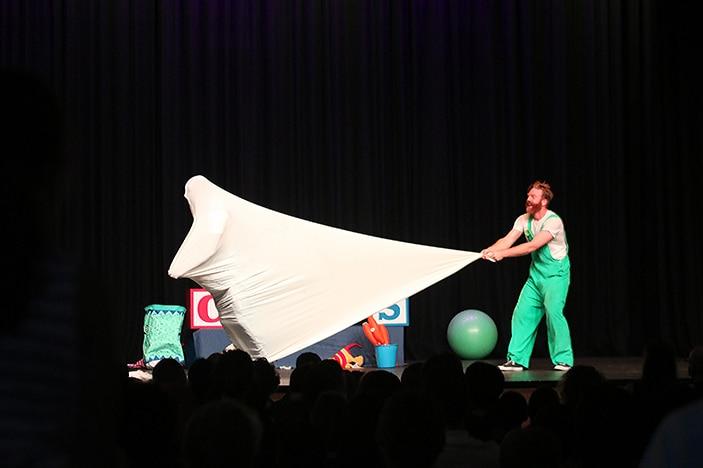 Performers in sheet