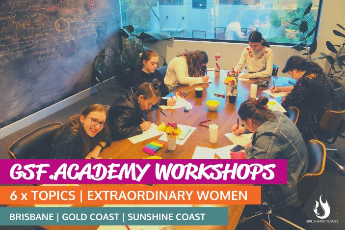 Girl Shaped Flames Academy Workshops