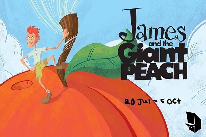 James and the giant peach Brisbane Arts theatre, Roald Dahl