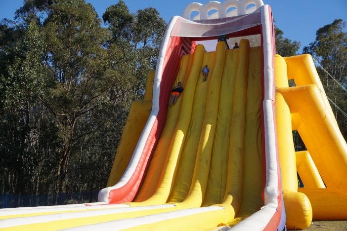 sky high slide, tall slide, slideapalooza brisbane
