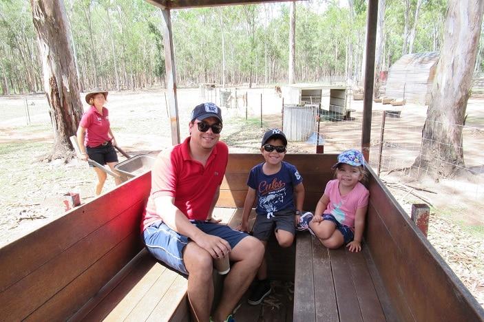 tractor rides brisbane, white ridge farm