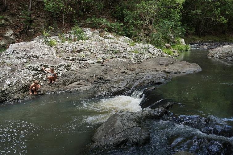 currumbin rock pools, gold coast swimming