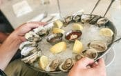 seafood buffet, all you can eat, oysters