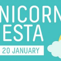 unicorn fiesta orion, rainbow