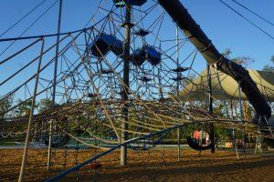 flagstone adventure park climbing net