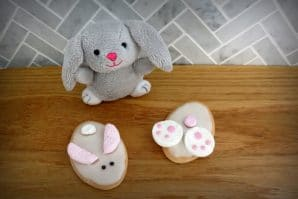 Easter rabbit cookies