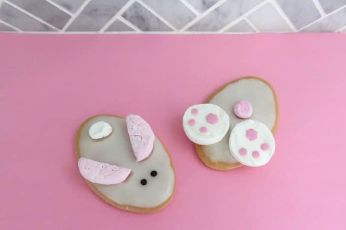 Easter rabbit biscuits
