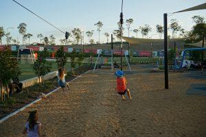 flying fox at flagstone playground