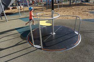 wheelchair spinner flagstone