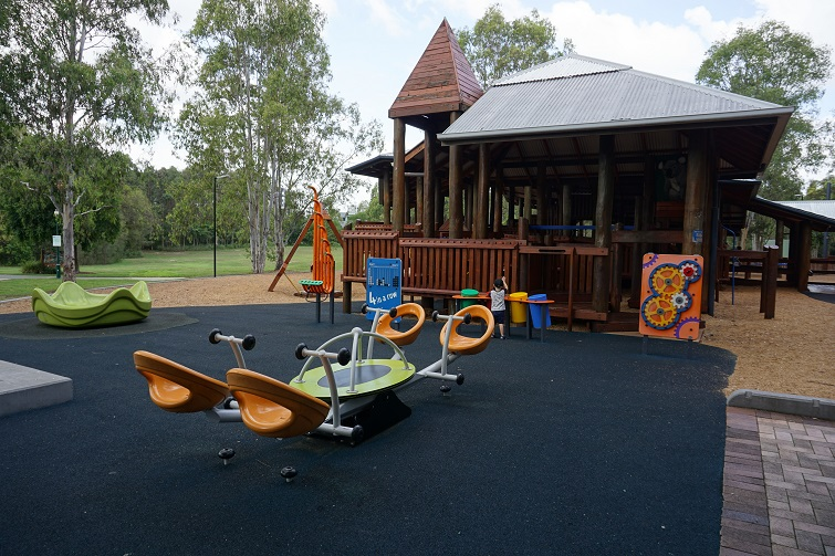 kidspace playground, play space, playground, brisbane park, kidspace