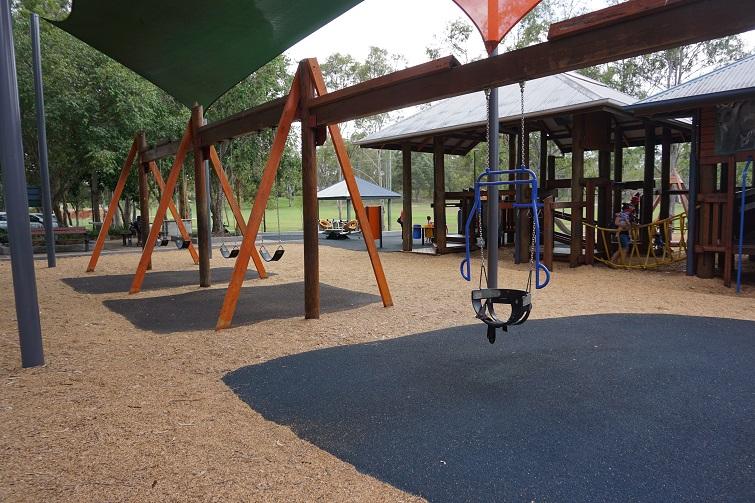 swings, play area, kidspace