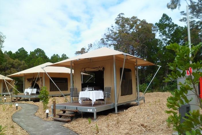 Moreton Camping, Moreton Island, Moreton Glamping