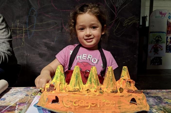 Kids Do Art, casual art classes for kids